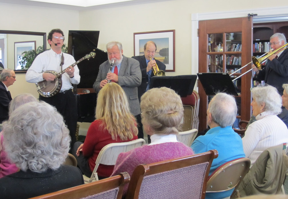 Onion River Jazz Band's annual visit