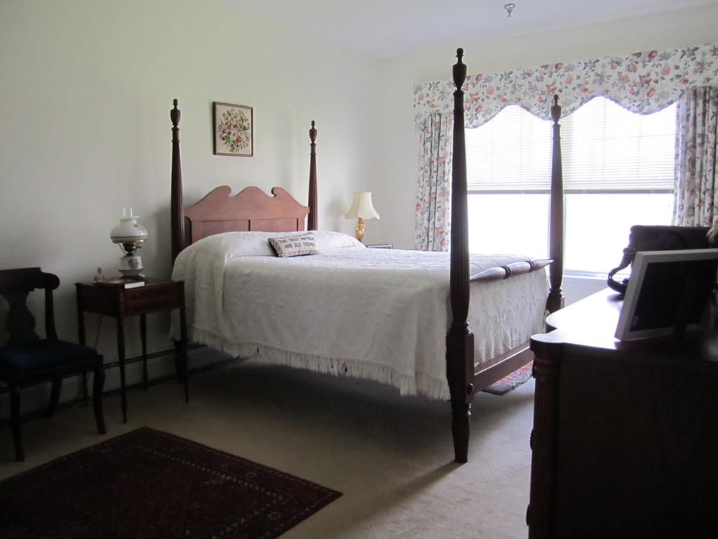 Master bedroom (two-bedroom unit)